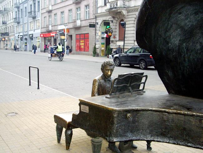Arthur Rubinstein in Lodz / Foto: minimlwork