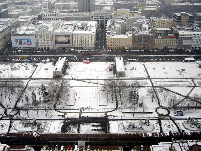 Warszawa im Nebel / Foto: minimlwork