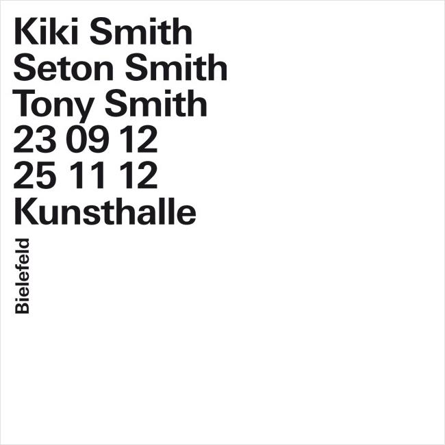 Kiki Smith / Seton Smith / Tony Smith // Foto: minimlwork